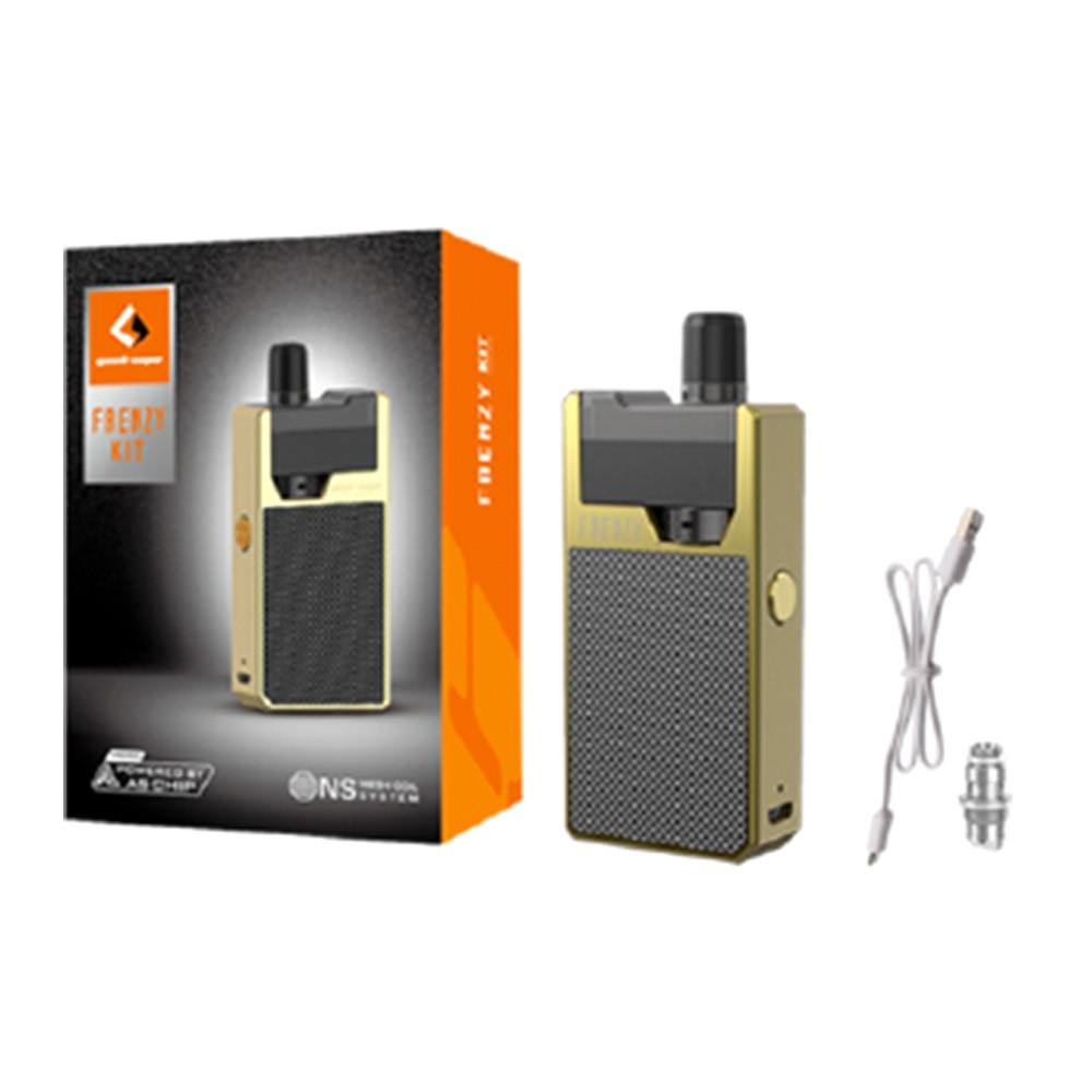 GeekVape frenesí Kit DE SISTEMA DE Pod con 2 ml de cartucho 950 mAh Vape pod y como Micro Chipset Vape E-cigarrillo kit del perdido Vape Orion ADN - 6