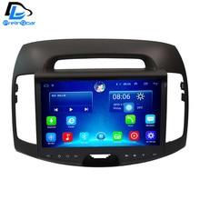 32 г Встроенная память Android 6.0 Автомобильный GPS Мультимедиа Видео Радио в тире для Hyundai Elantra 9 дюймов автомобиля navigaton стерео