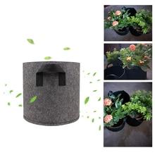 Planting Bag DIY Planter PE Cloth Planting Vegetable Gardening Thicken Vegetable Pot Planting Grow Bag Garden Tool classic pot for planting
