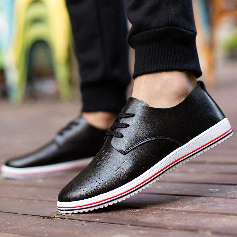 new 2015 summer casual shoes breathable leather