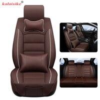 Kalaisike кожа универсальное автокресло крышка для Great Wall все модели Tengyi M4 C30 C50 M2 парение H1 H2 H5 h6 H7 H8 автомобильные аксессуары