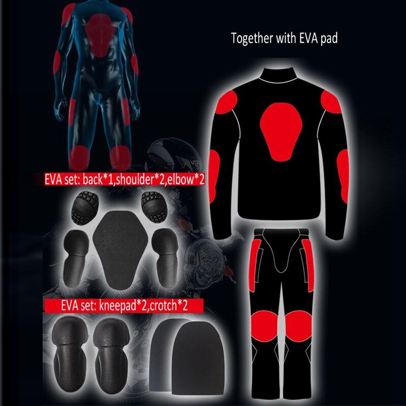 Équitation tribu Motocycle vêtements vestes pantalons hommes Moto course cyclisme costume imperméable Antifouling été hiver cavalier vêtements - 2