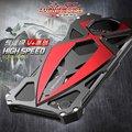 Original luphie caso marco del metal de lujo para el iphone 7 concepto de moda caja del teléfono de la cubierta del coche de deportes para el iphone 7 plus