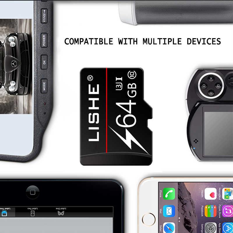 Paket Ritel C10carte SD Micro SD Card 8 Gb 16GB Cartao De Memoria 32GB 64GB 128GB Micro Sd kartu Memori Flash Kartu Hadiah Adaptor