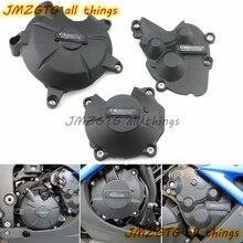 Мотоцикл крышка двигателя Защита Чехол для чехол ГБ Racing выхлопных газов для KAWASAKI ZX6R 09 10 2011 2012 2013