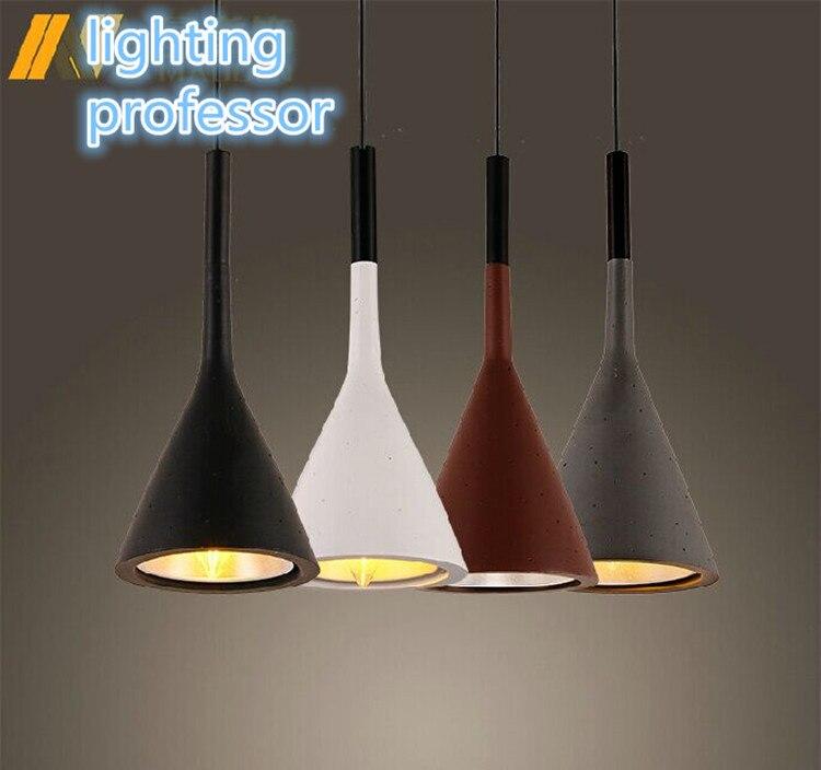 Livraison gratuite réplique Desiger lumière résine FOSCARINI Aplomb lampe suspension à LED