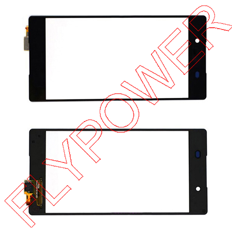 For Sony Xperia Z3+ Z4 E6533 E6553 Touch Screen Digitizer Glass Lens panel Replacement Black by free shipping;100% warranty