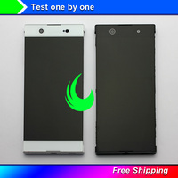6 Original Display For Sony Xperia XA1 Ultra G3221 G3212 G3223 G3226 LCD Touch Screen Digitizer with Frame SONY XA1 Ultra LCD