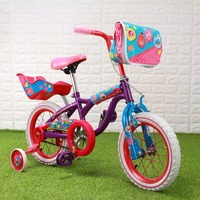 14''pattern&Dots Kid Bicycle Purple&Pink kids cycling bike student bicycle+Axis Gyro Flying Car 2.4Ghz 4 Channel 360 Airplane
