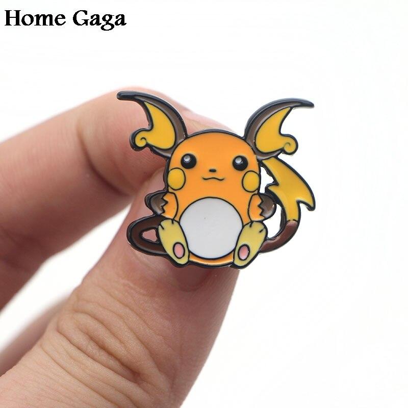 Practical Homegaga Raichu Pocket Monster Cartoon Diy Zinc Tie Pin Backpack Clothes Brooches For Men Women Hat Decoration Badge Medal D1651 Arts,crafts & Sewing