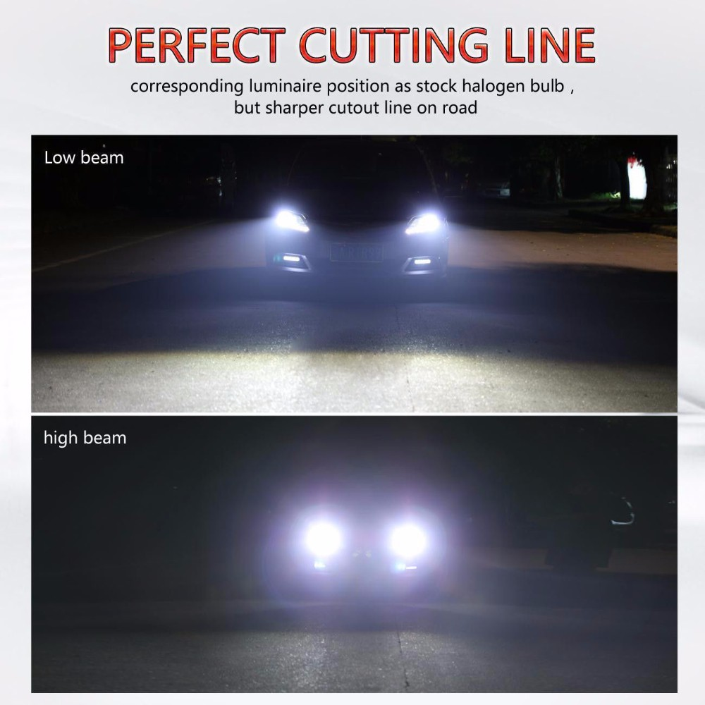 13200LM XHP-70 H1 CREE Chip Car LED