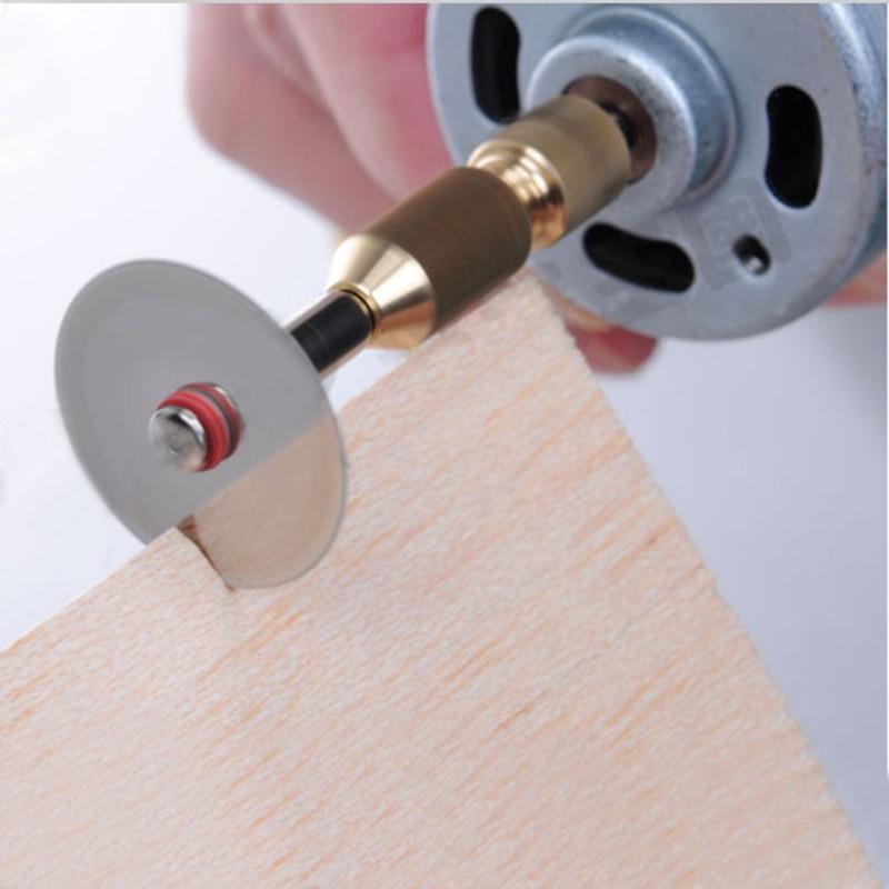 mini mandrino trapano senza chiave adattatore micro trapano pinze - Punta da trapano - Fotografia 5
