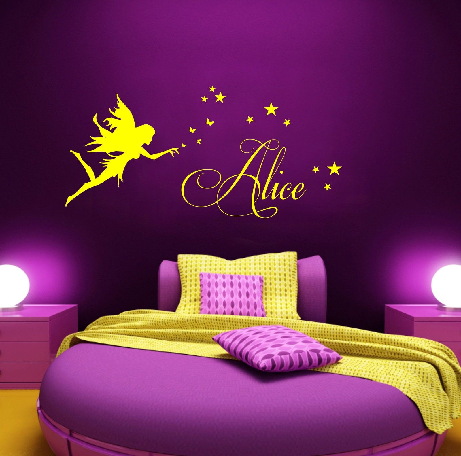 Personalized Bedroom Wall Decor : Popular wall stencil art buy cheap lots