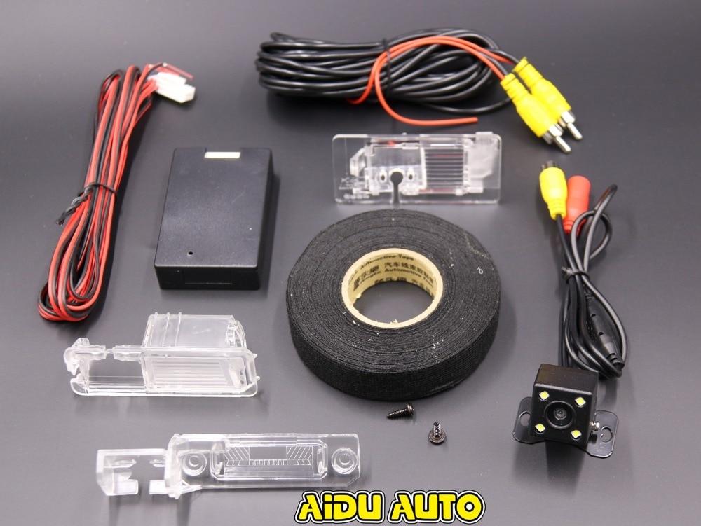 RCD330 плюс AV камера заднего вида для VW Golf 5/6/7 JETTA Mk5 MK6 TIGUAN Passat B6 B7 Octavia