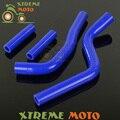 Силиконовые Радиатор Охлаждения Шланг Для Yamaha YZ125 YZ 125 03 04 05 06 07 08 MX Эндуро Мотоциклов Мотокросс Байк Off дорога
