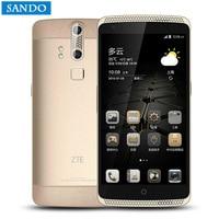 ZTE Axon A2015 Mobile Phone Snapdragon Android 3GB + 32GB 4G FDD LTE 5.5 FHD 3000 mAh Double Back Fingerprint Digital Cameras