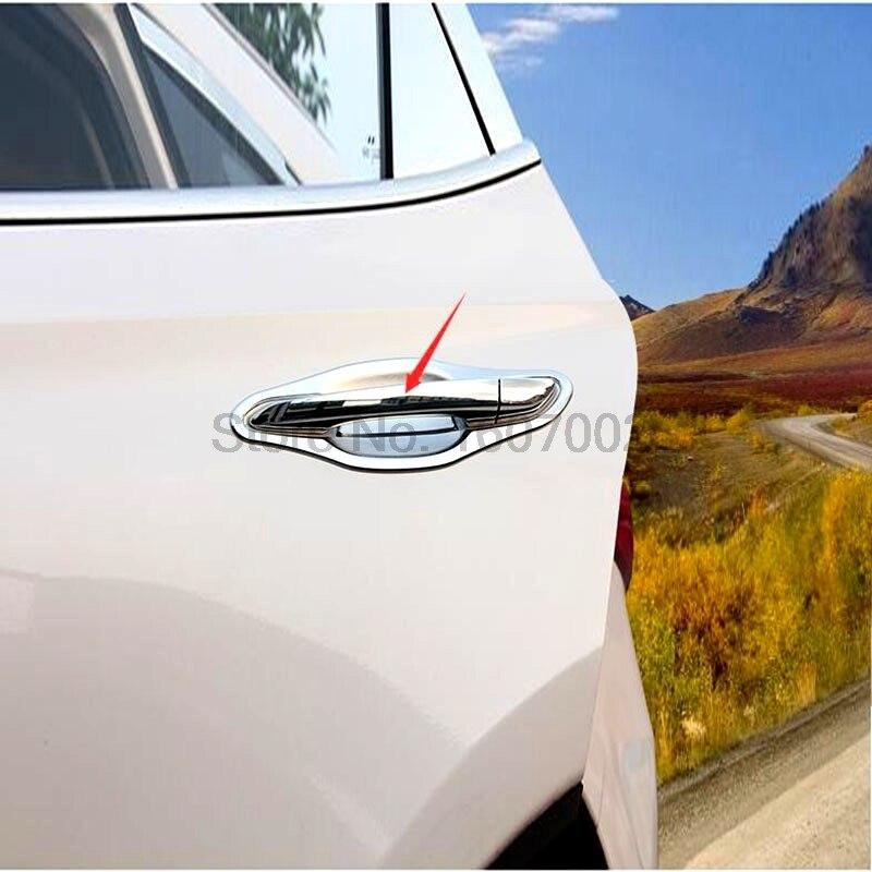 ABS Chrome Side Door Handle Cover Trim 8pcs for Hyundai Tucson 2016-2019
