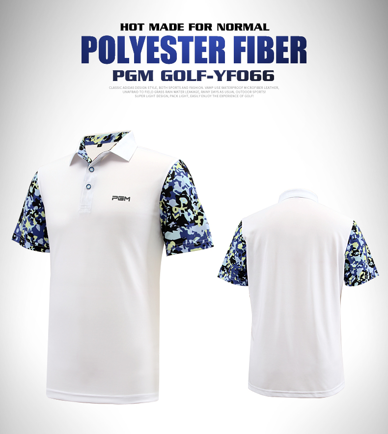 Top quality!PGM Men Summer Polo Shirt Sportswear Mens Golf T-shirt Breathable Golf Short Sleeve Clothes,Free shipping