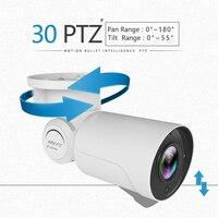 Onvif Outdoor Indoor 2MP 1080P SD Card POE PTZ Camera Sony 323 Bullet Network PTZ IR