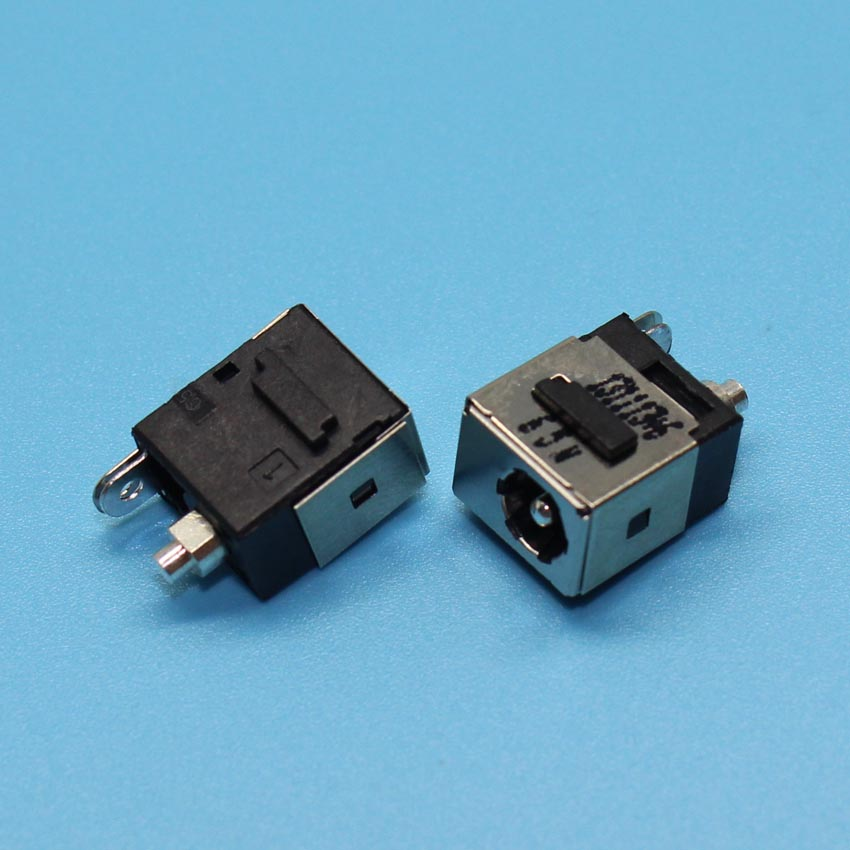 DC Power Jack Connector For DELL Mini 9 10 11 12 910 1010 1210 For HP DV5000 C300 V5000 DV8000 DC JACK, Pin=1.65mm