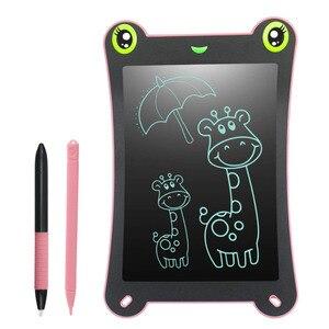 Image 2 - NEWYES Tableta Digital portátil, placa de análisis, 8,5 pulgadas, LCD, electrónica, de escritura, Digital, de dibujo, para regalo para niños