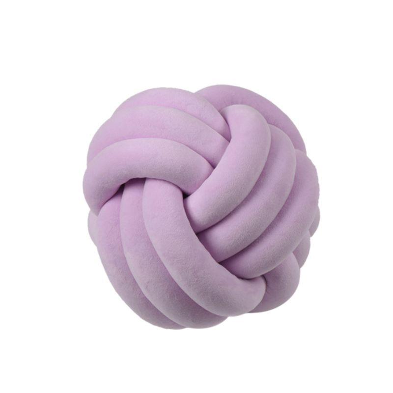 HTB1gJejXKL2gK0jSZPhq6yhvXXaY Soft Knot Ball Cushions Bed Stuffed Pillow Home Decor Cushion Ball Plush Throw