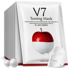 NEW Apple Essence Lazy Moisturizing Mask Skin Care Plant Facial Mask Moisturizing Oil Control Blackhead Remover Mask Face Care(China)