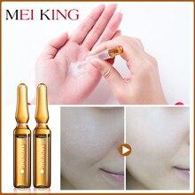 MEIKING Face Serum Moisturizing Essence Whitening  Skin Care Acne Treatment  Moisturizing Lifting and tightening skin 2ml*5PCS