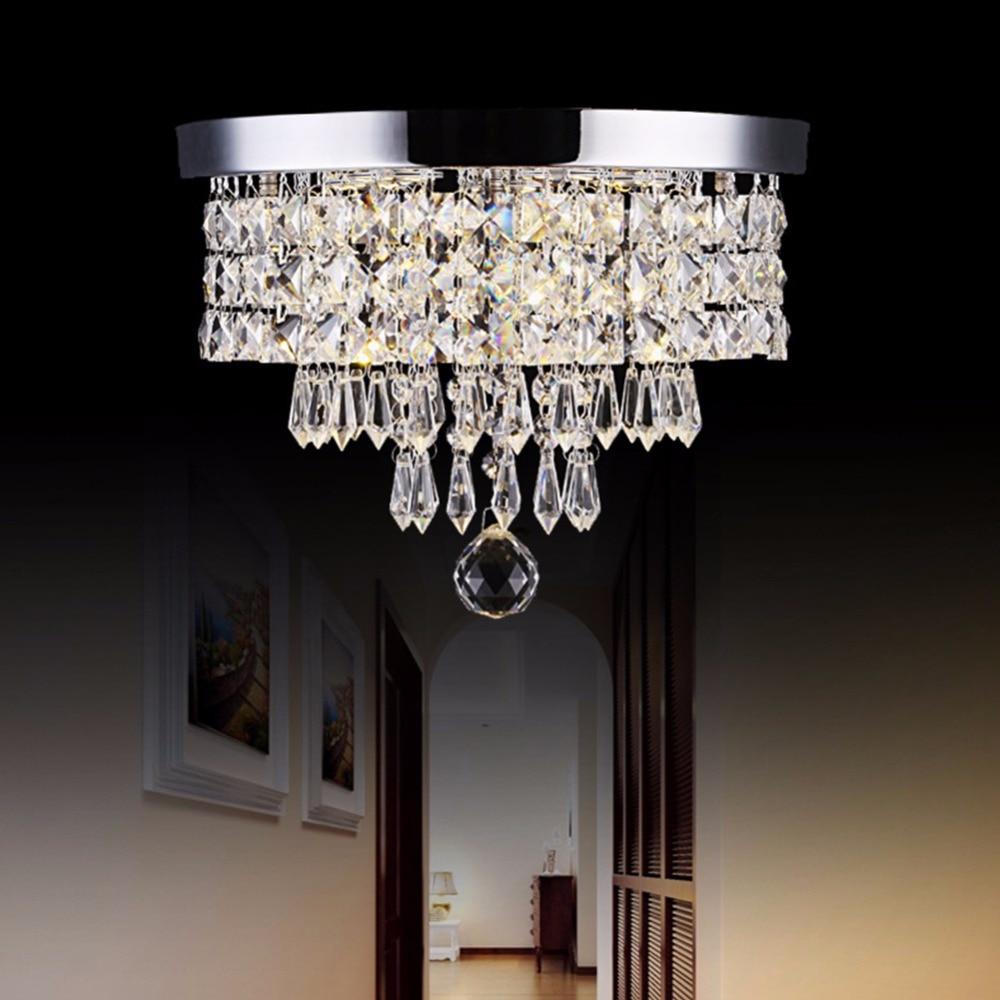 Lamplab K9 Kristall Silber Licht Led Kronleuchter Pass Lampe Moderne Anhänger Lampe Decor Loft Wohnzimmer Decke Lampen Villa
