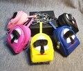 Симпатичные белый мини карл рюкзак шарм сумка подвески теги сумки ошибка девушка ключи от машины цепь леди сумка аксессуары