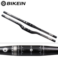 BIKEIN RXL Ultra Light Full 3k Carbon Fibre MTB Flat Rise Handlebar 135g Cycling Mountain Bike