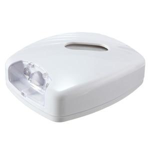 Image 2 - Jiguoor 新 Led 人間 motion 起動 Pir 光センサートイレ led ライトボウル浴室 Led ナイト活性化 motion ライト