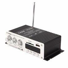 12 V Salut-fi Stéréo Audio Amplificateur 2 Canaux Voiture MP3 CD Amplificateur avec USB/SD Port DVD FM et Télécommande En Gros hot new