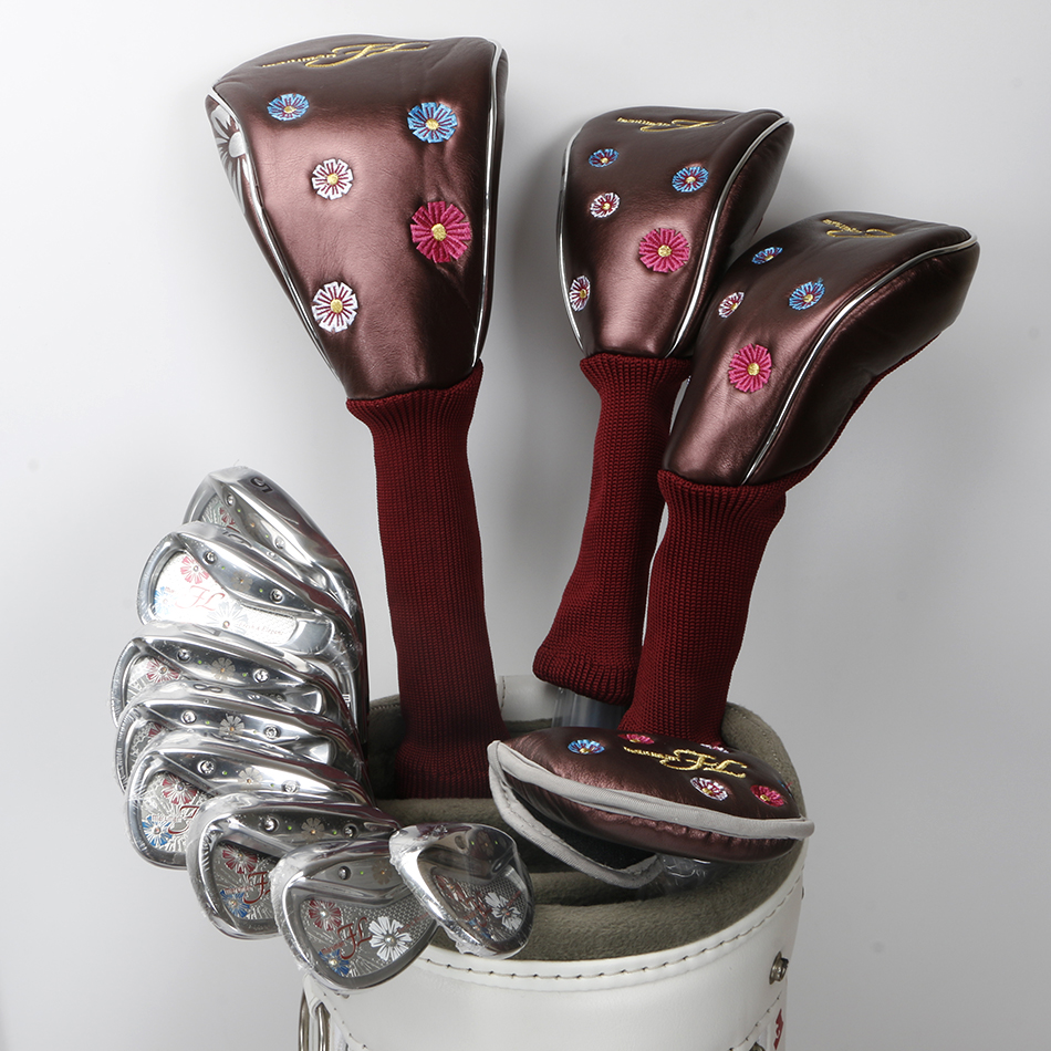 New Womens Golf clubs Maruman FL Golf complete set of clubs driver+fairway wood+irons+putter Graphite Golf shaft Free shipping free shipping pgm mens golf clubs complete set of graphite shaft with standard bag titanium alloy for rod