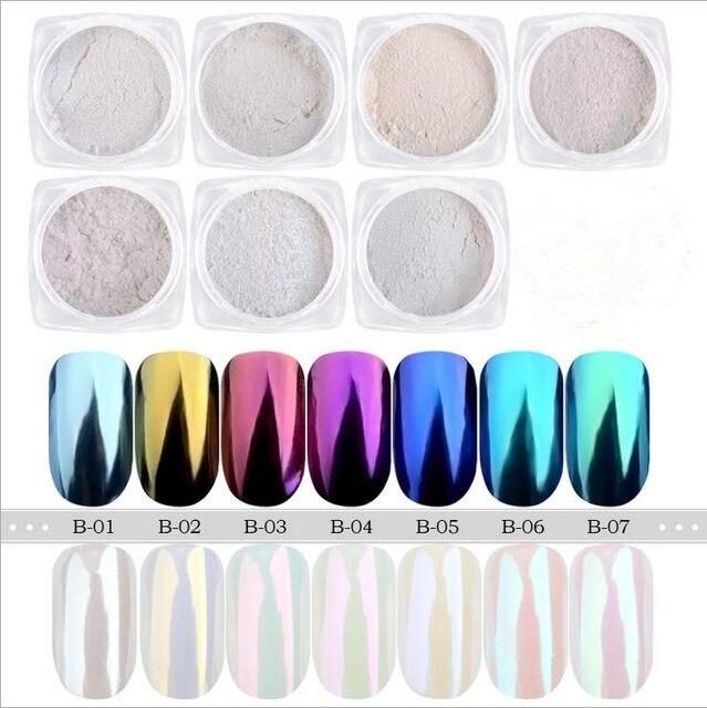 Atractivo Uñas Espejo Del Arco Iris Imagen - Ideas de Diseño de ...