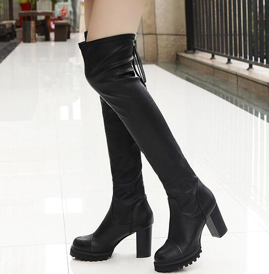 Compare Prices on Long Leather Boots- Online Shopping/Buy Low ...