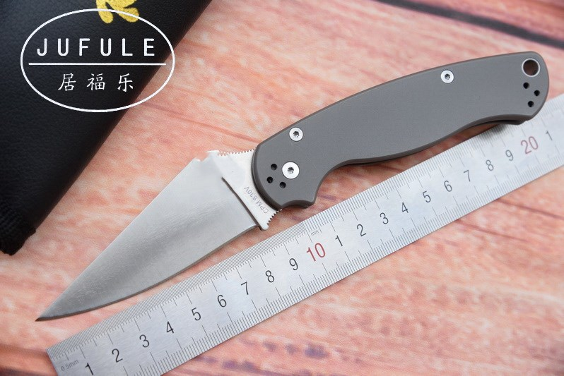 JUFULE New Titanium handle Para Military 2 C81 S30V blade ball bearing Folding hunt outdoor multi EDC Tool Utility kitchen Knife nighthawk  x 750 new folding knife ball