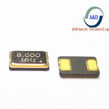 12 шт. 8 МГц 5*3,2 мм 5032 2Pin SMD кварцевый генератор 8 М 8,000 МГц