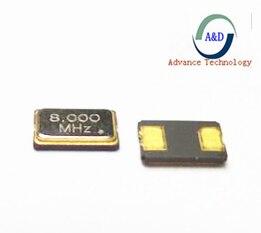 12pcs 8MHZ 5*3.2mm 5032 2Pin SMD Crystal Oscillator 8M 8.000mhz