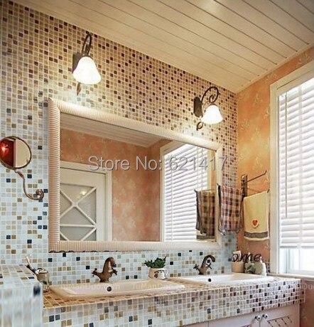 Heimwerker Natur Marmor Stein Mosaik fliesen, küche Aufkantung ...
