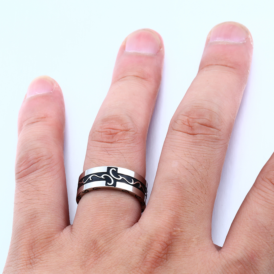 Stainless Steel Simple Ring viking 2018 New Jewelry for man Gift | eBay