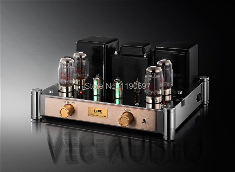 KT88 tube amp push-pull Class A amplifier finished product 12AT7 12AU7  6E2 Tube Hifi Stereo Audio appj smart wifi 6j1 6p4 vacumm tube amplifier mini hifi stereo integrated desktop amp finished product