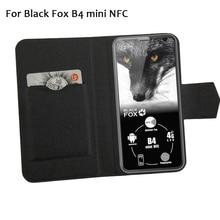 5 цветов хит! Черный лиса B4 Мини NFC чехол для телефона кожаный чехол, заводская цена защитный полный Флип Стенд кожаный чехол для телефона s