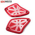 Motorcycle brake clutch cover Front Fluid Reservoir Cap Cover For DUCATI Diavel 2011 2012 2013 2014 2015