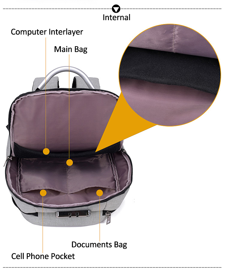 HTB1gJheXsrrK1RjSspaq6AREXXaX - New Teenager Campus backpack Student multifunctional anti-theft