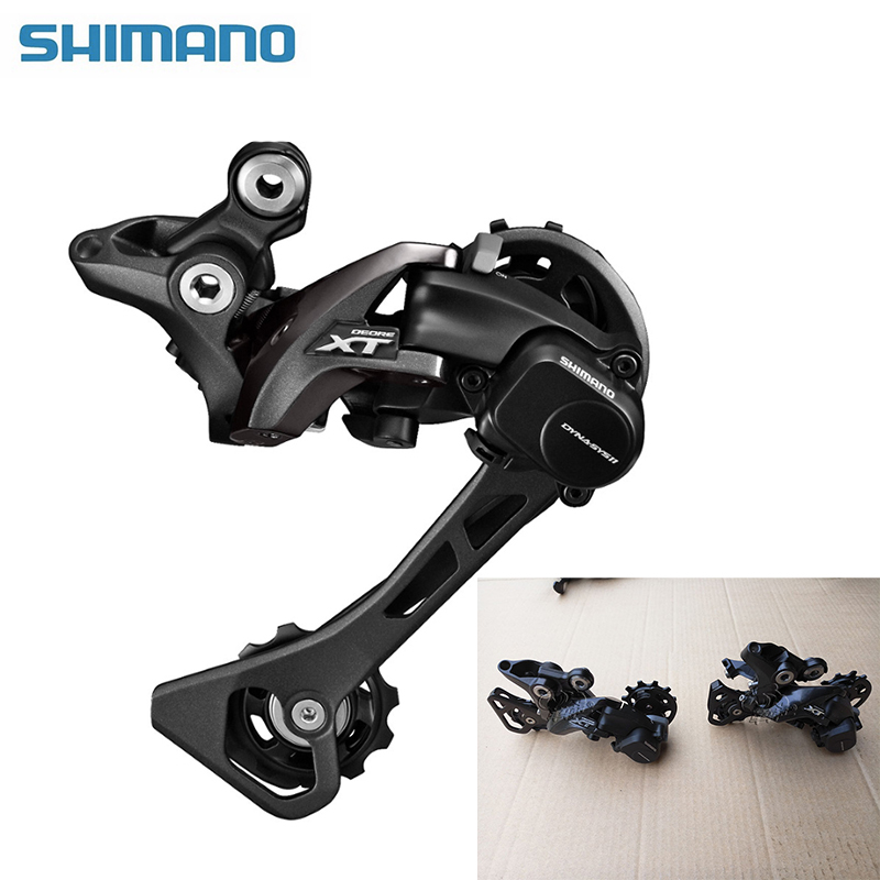 SHIMANO Rear Derailleur 11 speed DEORE XT RD M8000 Long & Middle Cage Speed Rear Derailleur Shadow + / Locking Button чехол на сиденье autoprofi mtx 1105 bk rd m