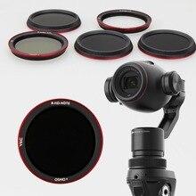 UV CPL ND4 ND8 ND16 фильтр объектива для DJI OSMO Plus ручной карданный объектив камеры фильтры для OSMO+ X3 zoom стабилизатор запчасти