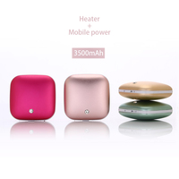 Usb Creative Heater Handwarmer Charging Mobile Power, Portable Heating Mobile Power, Mini Handheld Small Non Water Hand Treasure