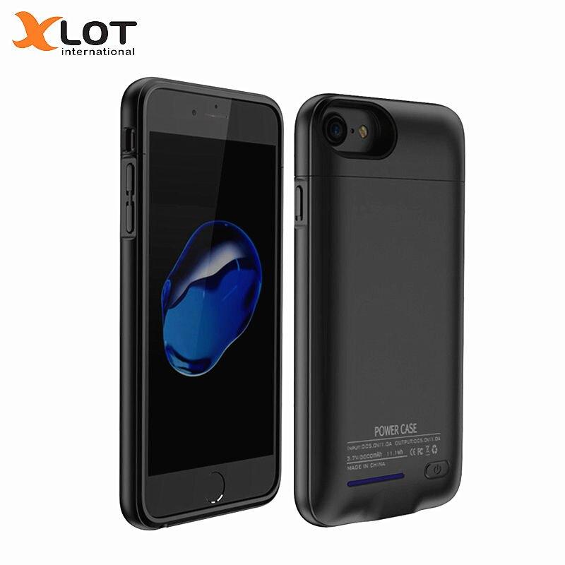 XLOT chargeur de batterie étui pour iphone 6 6 s Plus 3000/4200 mAh boîtier d'alimentation Ultra mince batterie externe pour chargeur de téléphone portable