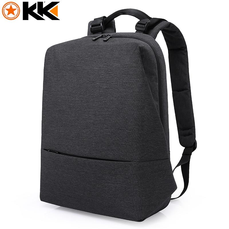 KAKA Brand Casual Book Bag for Boy and Girl Soft Handle Backpack Waterproof Solid Pack Large Capacity Laptop Bag Men Travel Bag kaka large capacity chest bag for men